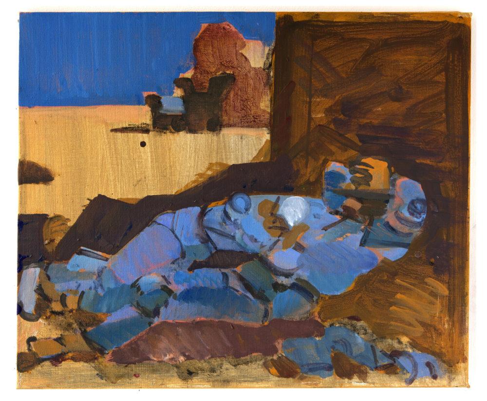 Eft. Van Gogh, akryl på duk, 2016