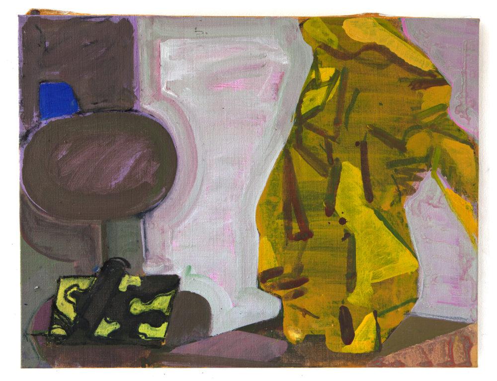 Matisse: plastpåsen, akryl på duk, 2013